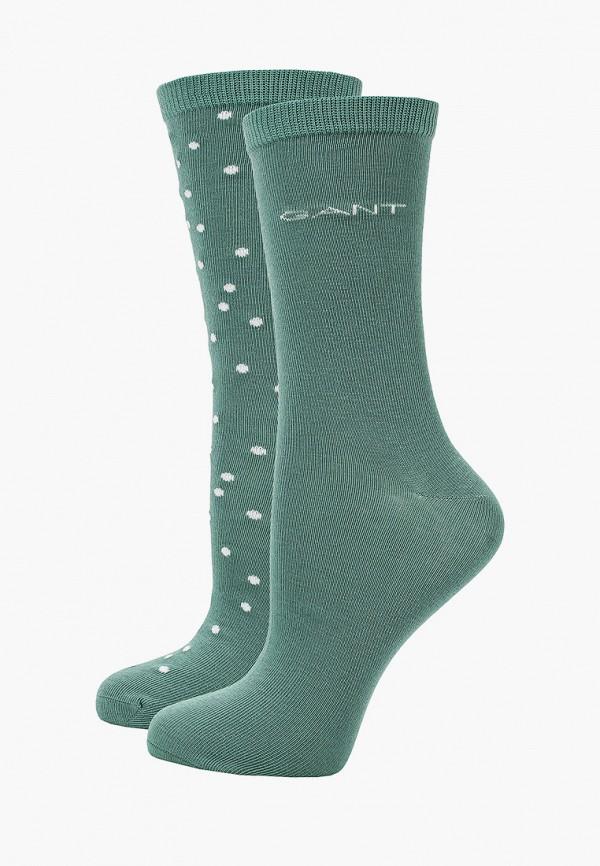 женские носки gant, бирюзовые