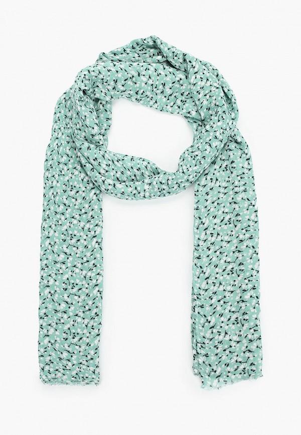 женский шарф gant, бирюзовый