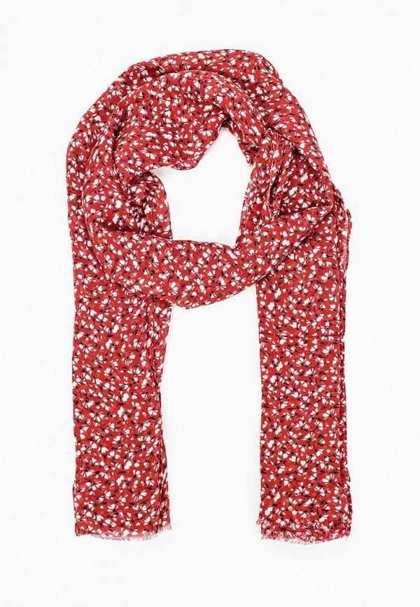 женский палантин gant, красный