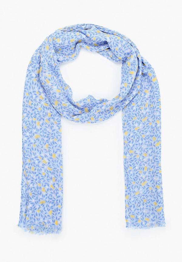 женский шарф gant, голубой
