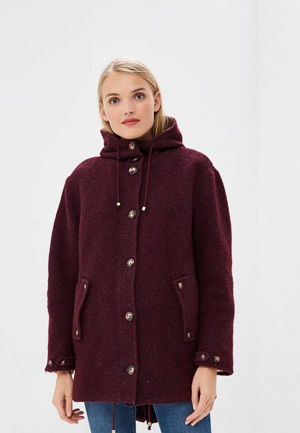 женское пальто gas, фиолетовое