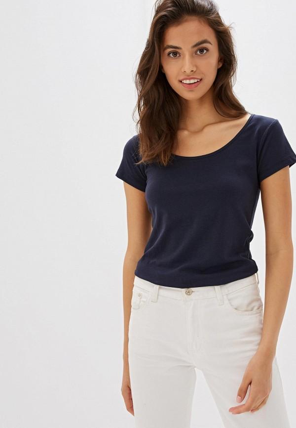 женская футболка gas, синяя