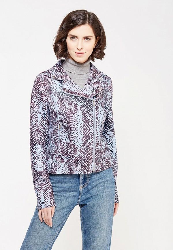 Купить Куртка кожаная Gas, ga340ewyxo89, голубой, Осень-зима 2017/2018
