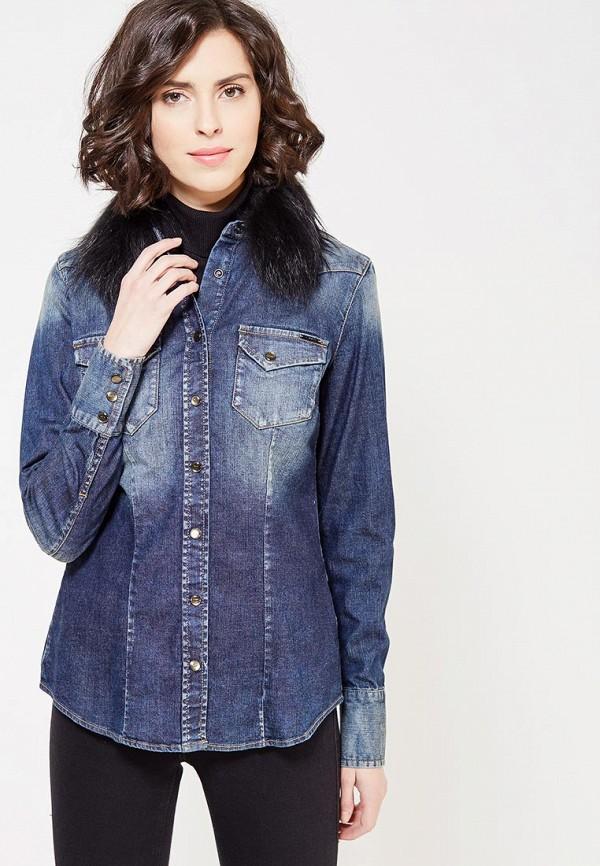 Рубашка джинсовая Gas Gas GA340EWYXQ28 цены онлайн