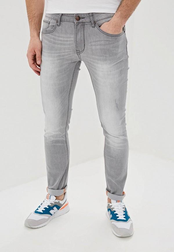 мужские зауженные джинсы gaudi, серые