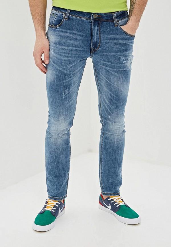 мужские зауженные джинсы gaudi, синие