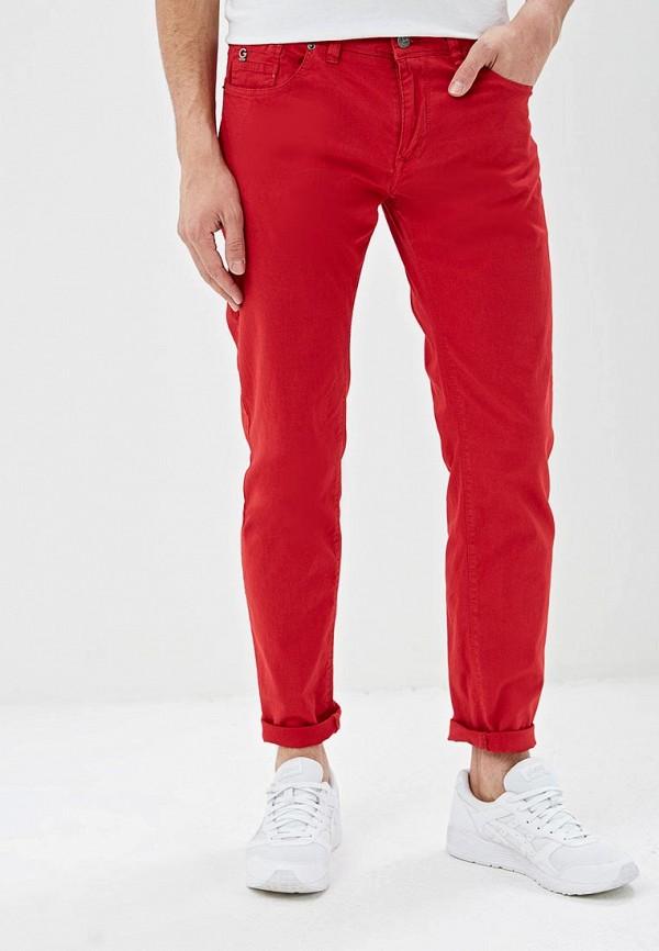 мужские повседневные брюки gaudi, красные