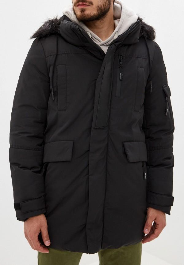 мужская куртка gaudi, черная