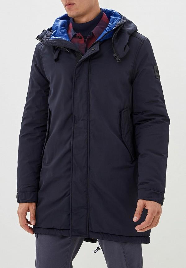 мужская куртка gaudi, синяя