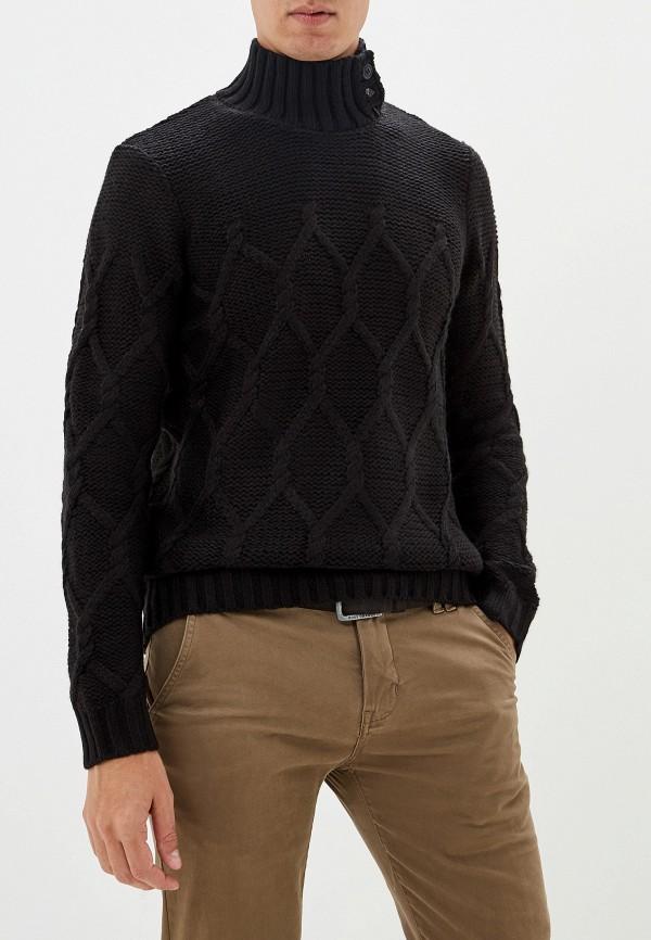 мужской свитер gaudi, черный