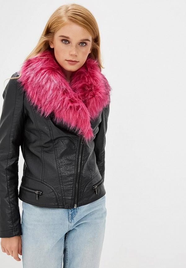 Купить Куртка кожаная Gaudi, GA629EWCGAH7, черный, Осень-зима 2018/2019