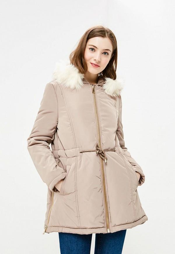 Купить Куртка утепленная Gaudi, GA629EWCGAH8, бежевый, Осень-зима 2018/2019