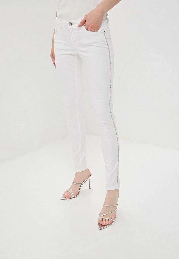 женские повседневные брюки gaudi, белые