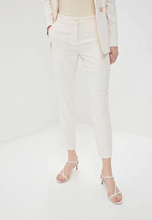 женские классические брюки gaudi, бежевые