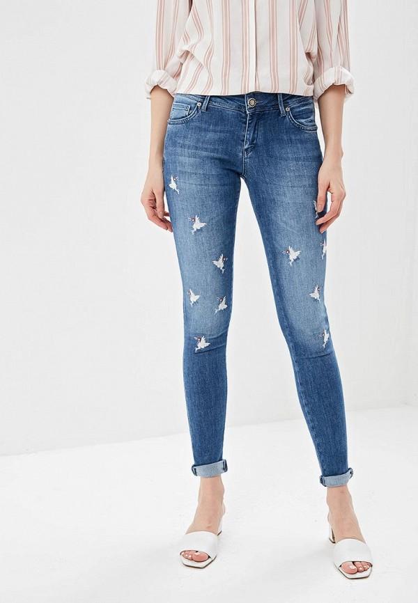 женские прямые джинсы gaudi, синие