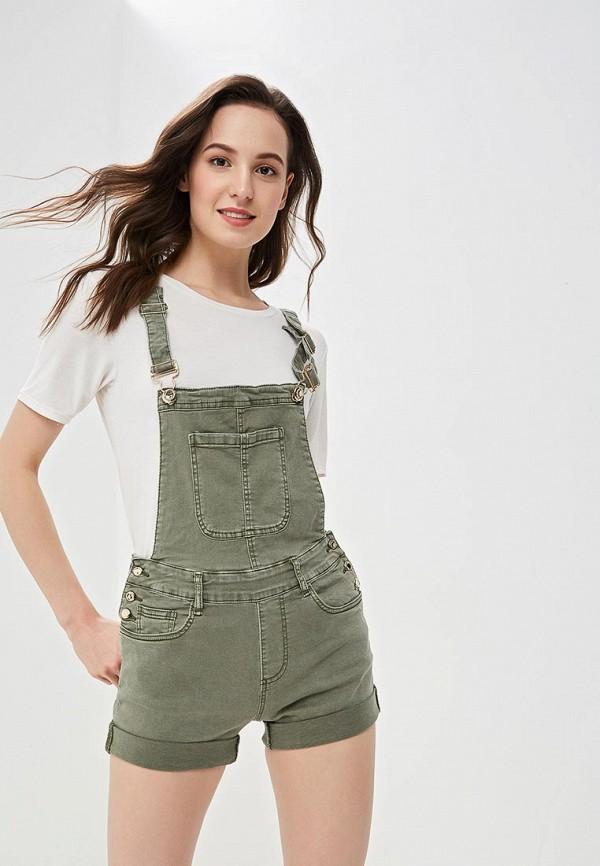 женский джинсовые комбинезон gaudi, зеленый