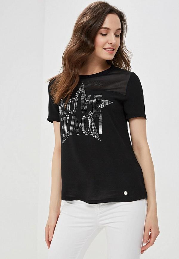 женская блузка gaudi, черная