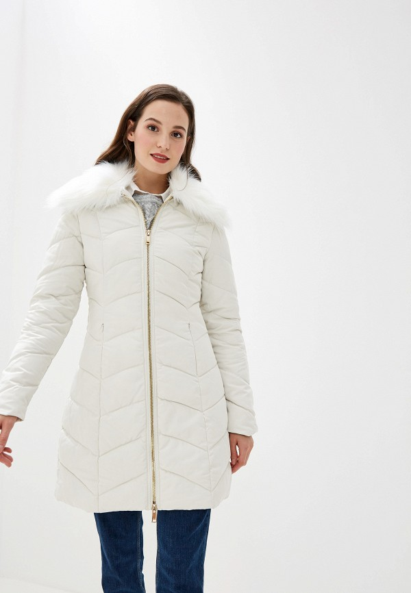женская куртка gaudi, белая
