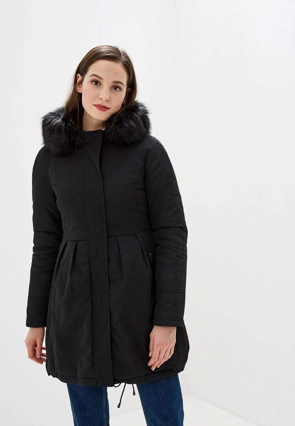 женская куртка gaudi, черная