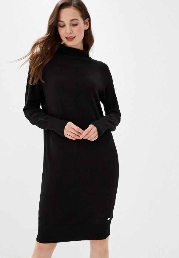 женское повседневные платье gaudi, черное