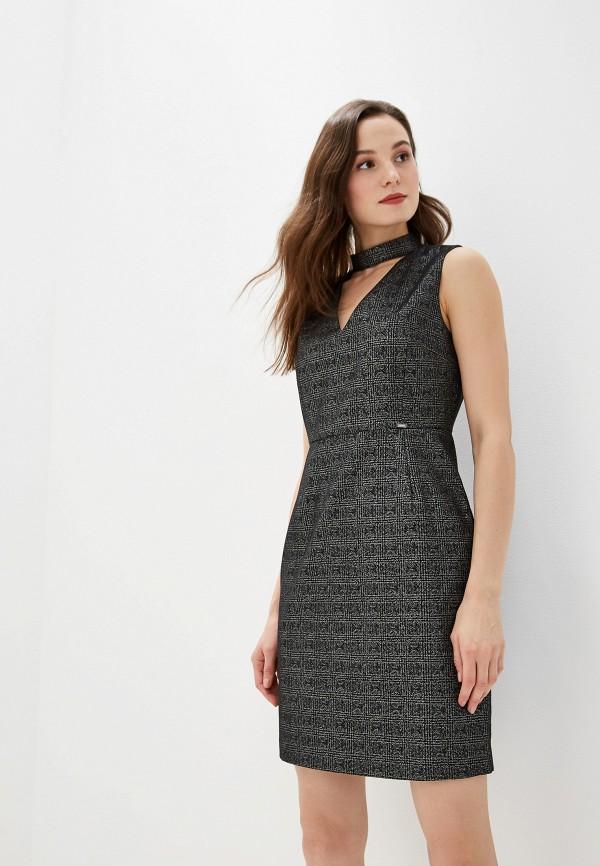 женское повседневные платье gaudi, серое