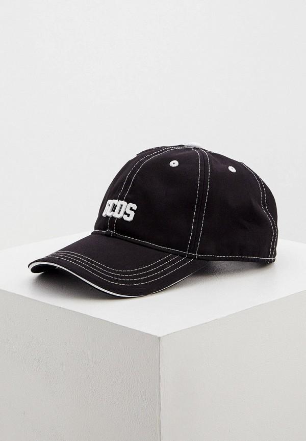 мужская бейсболка gcds, черная