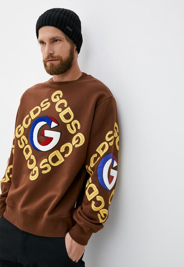 мужской свитшот gcds, коричневый