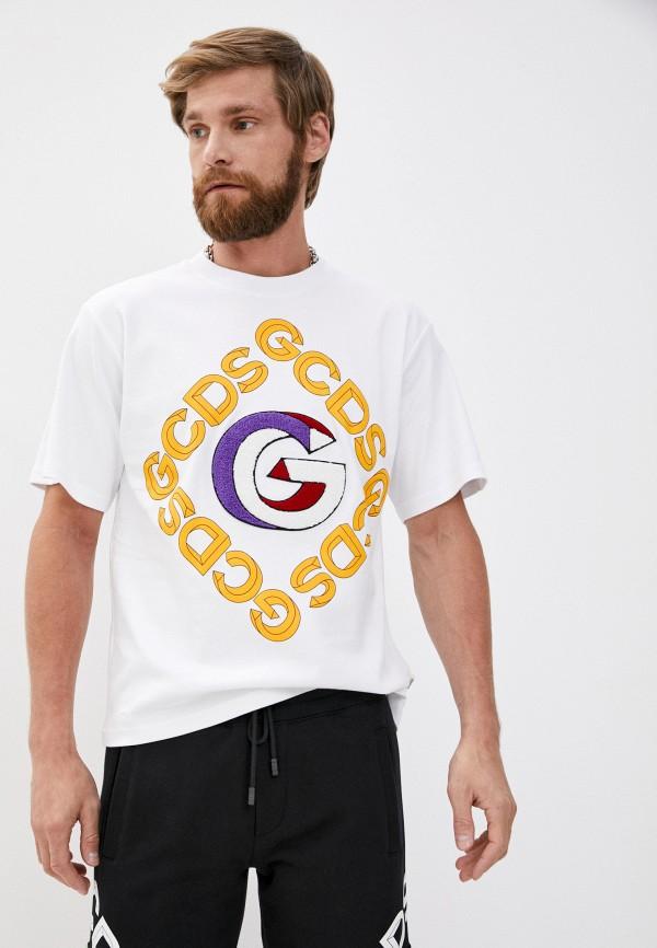 мужская футболка gcds, белая