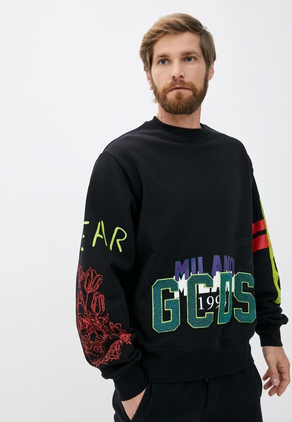 мужской свитшот gcds, черный
