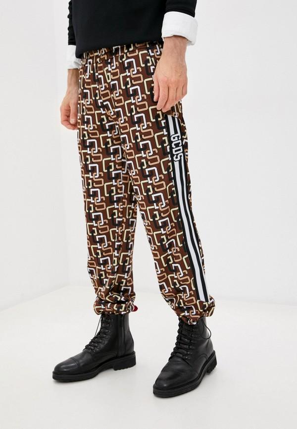 мужские спортивные брюки gcds, коричневые