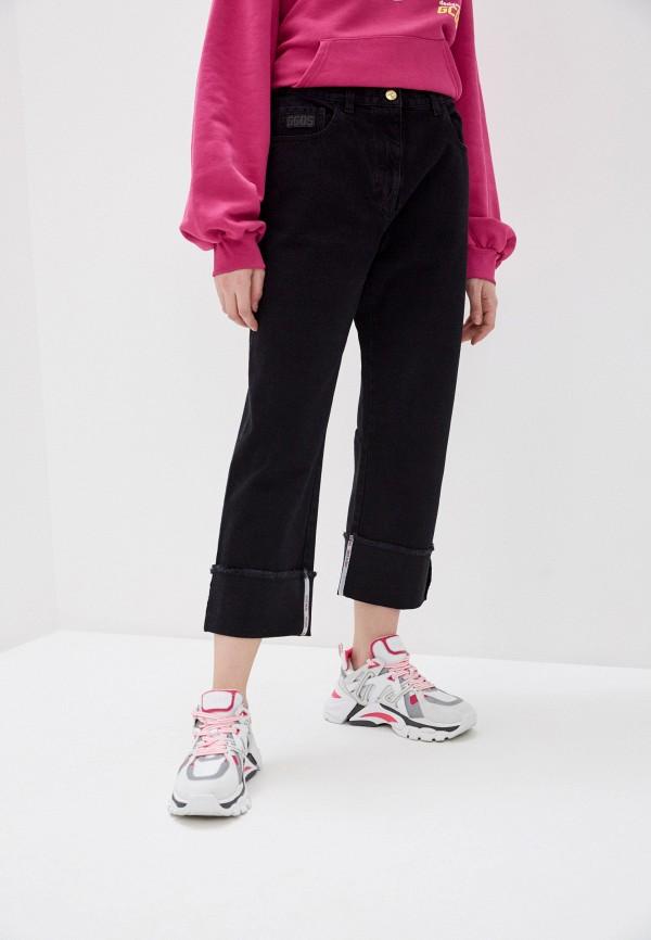 женские джинсы бойфренд gcds, черные
