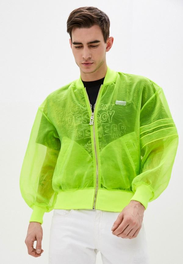 мужская куртка gcds, зеленая