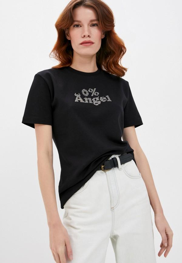 женская футболка gcds, черная