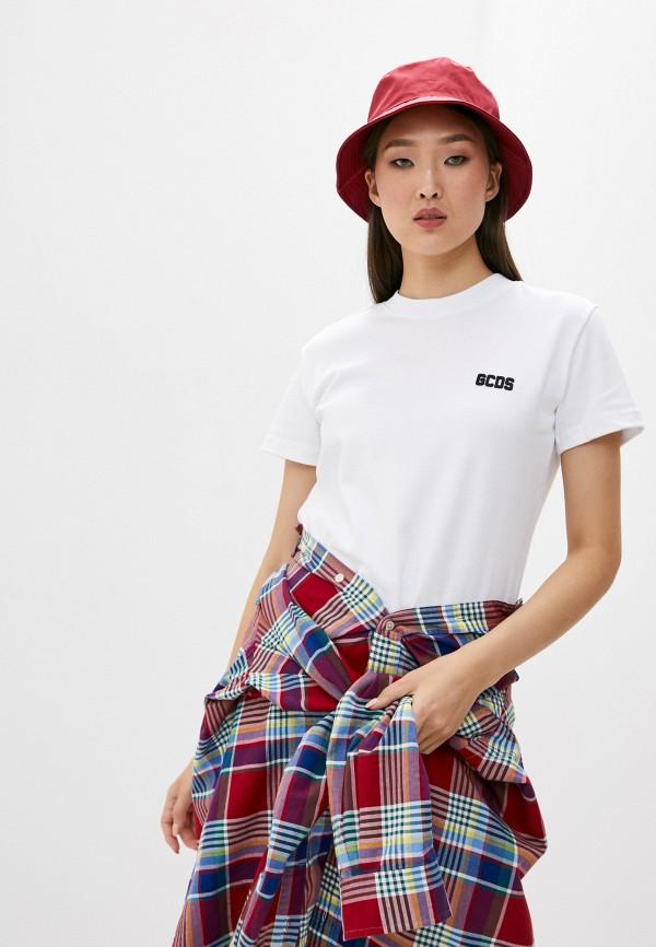 женская футболка gcds, белая