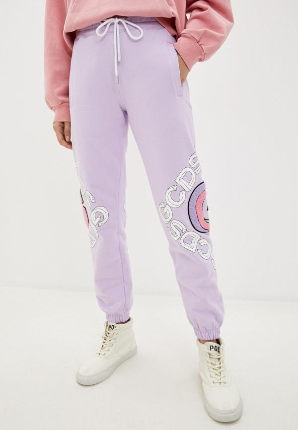 женские спортивные брюки gcds, фиолетовые