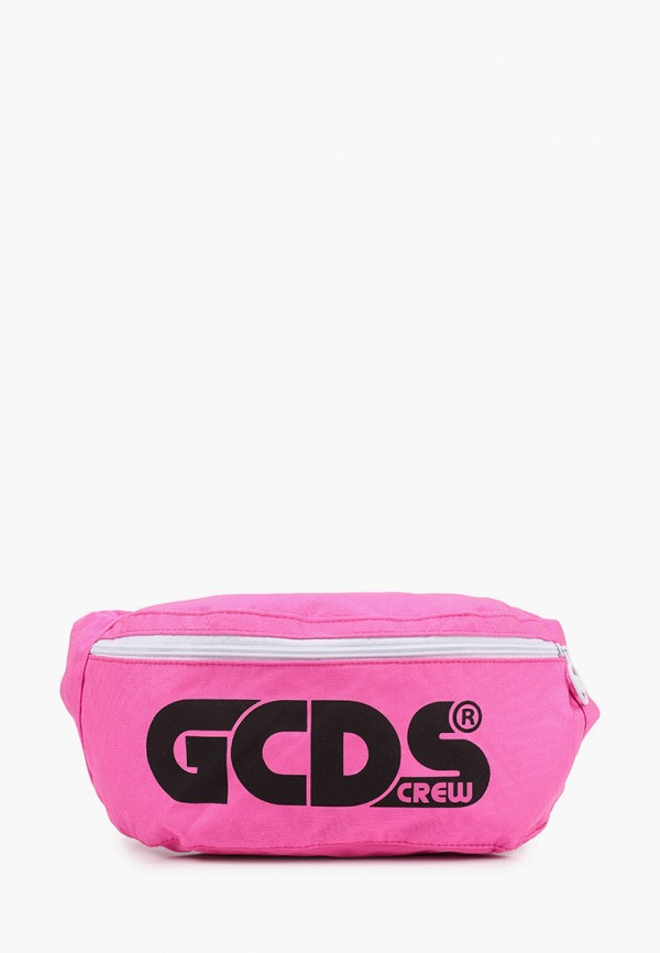 Сумка поясная GCDS Mini GCDS Mini 25921 розовый фото