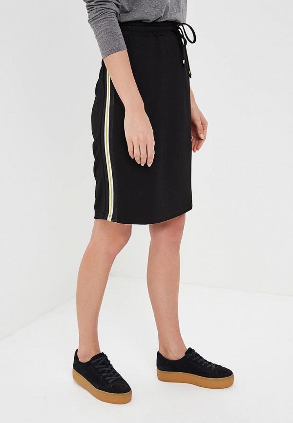 Купить женскую юбку Gerry Weber черного цвета