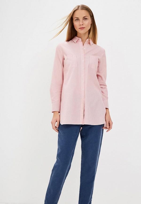 женская рубашка с длинным рукавом gerry weber, красная