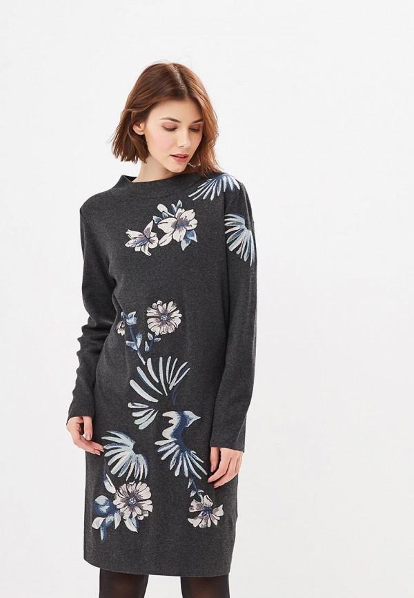 Купить Платье Gerry Weber, ge002ewczfs1, серый, Осень-зима 2018/2019