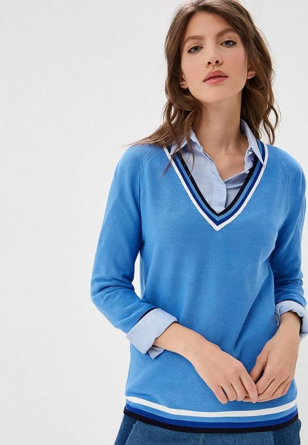 женский пуловер gerry weber, голубой