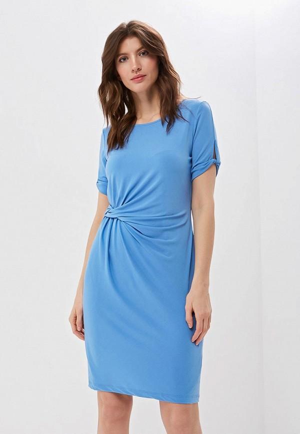 женское повседневные платье gerry weber, голубое