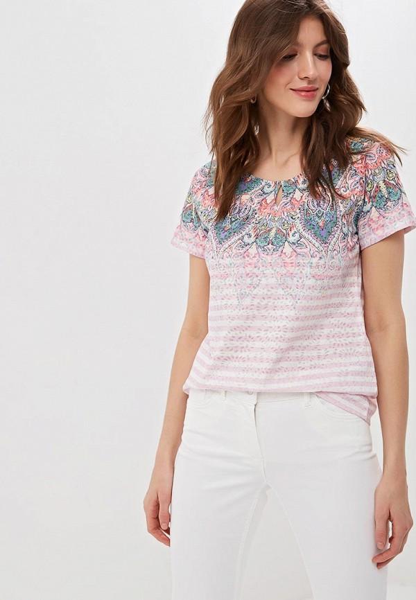 женская футболка gerry weber, разноцветная