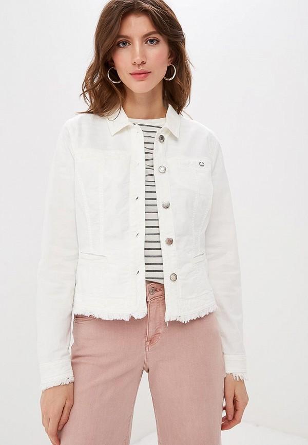 женская джинсовые куртка gerry weber, белая