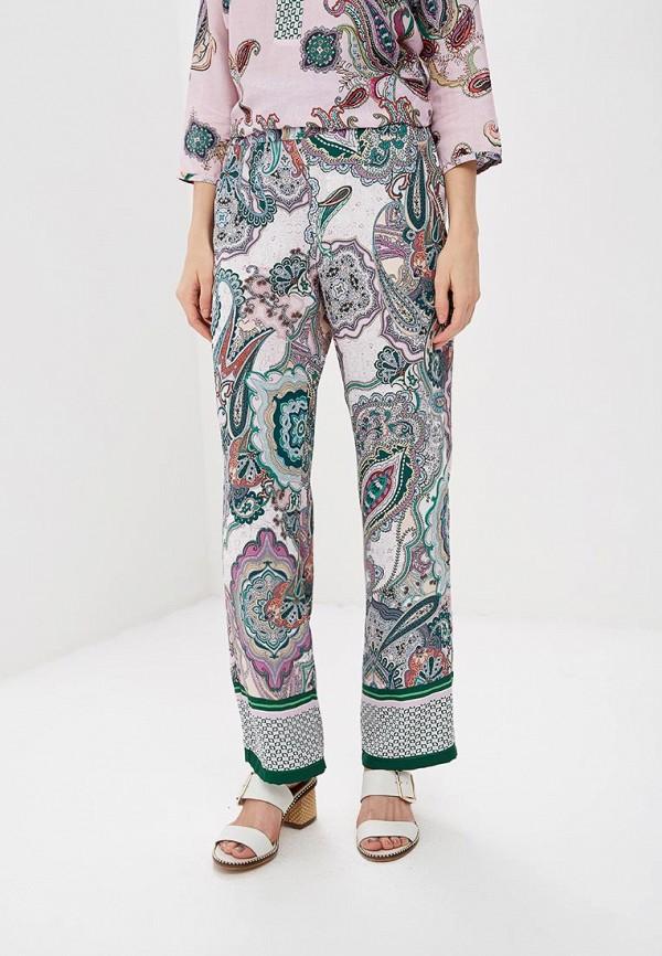 женские повседневные брюки gerry weber, фиолетовые