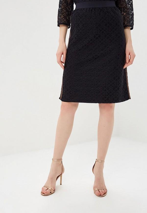 женская прямые юбка gerry weber, синяя