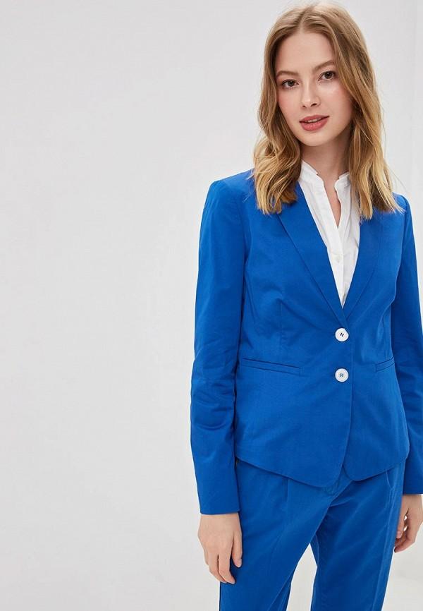женский жакет gerry weber, синий