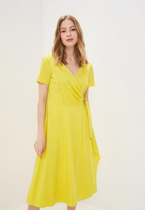 женское повседневные платье gerry weber, желтое