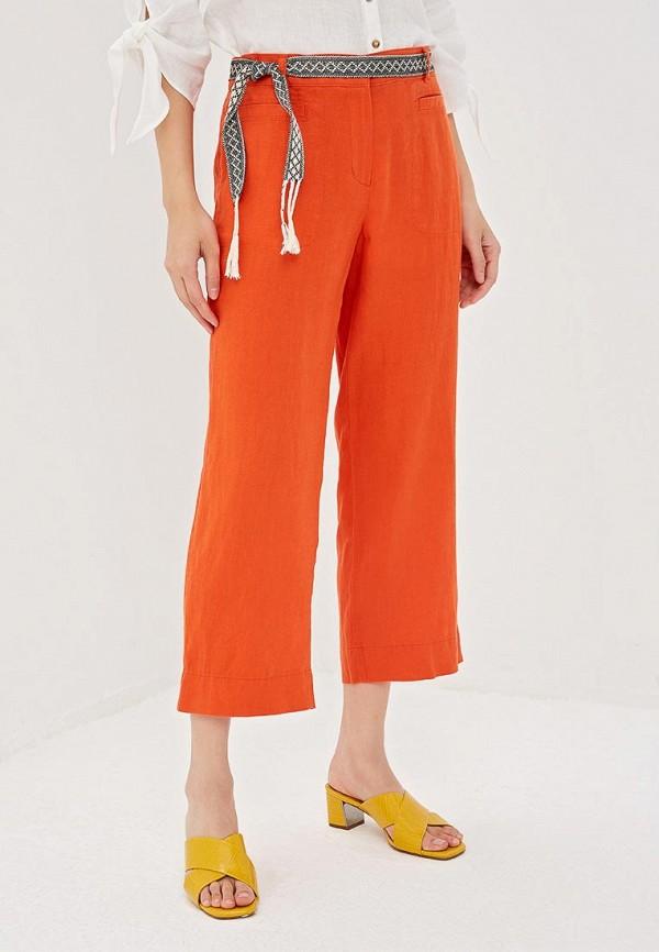 женские повседневные брюки gerry weber, оранжевые