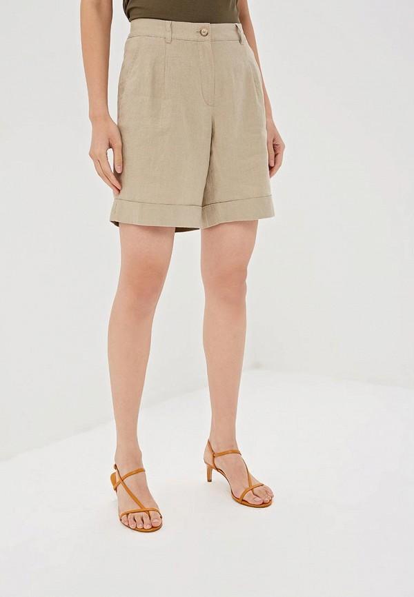 женские шорты gerry weber, бежевые