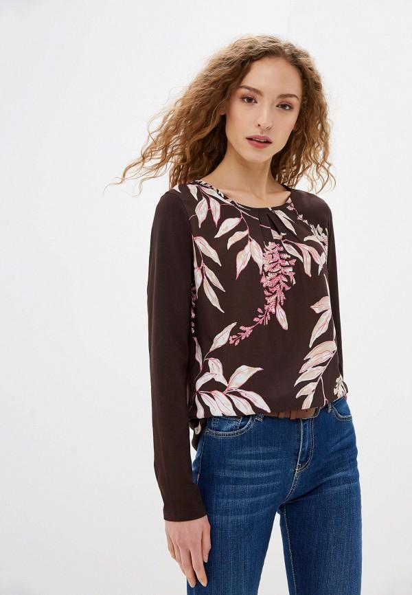 женская блузка gerry weber, коричневая